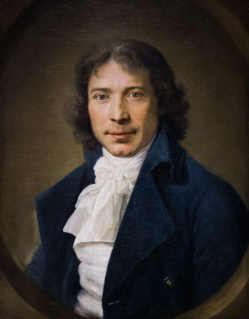 Fabian Fröhlich, Staatsgalerie Stuttgart, Gottlieb Schick, Portrait Johann Heinrich Dannecker