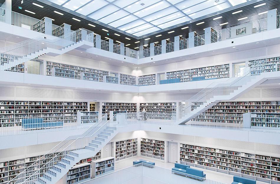 Fabian Fröhlich, Stuttgart, Stadtbibliothek Stuttgart, Lesesaal