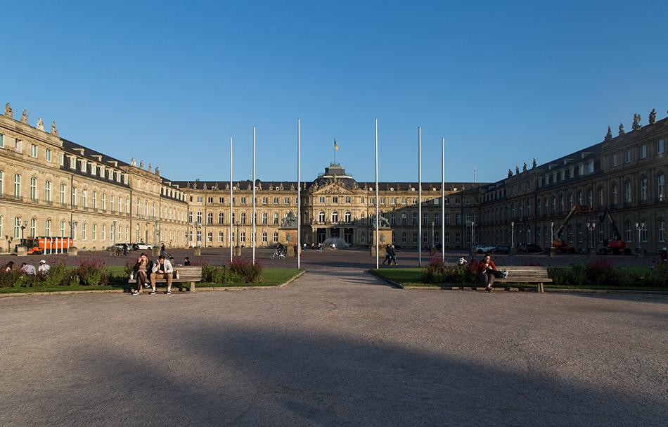 Fabian Fröhlich, Stuttgart, Neues Schloss (New Palace)