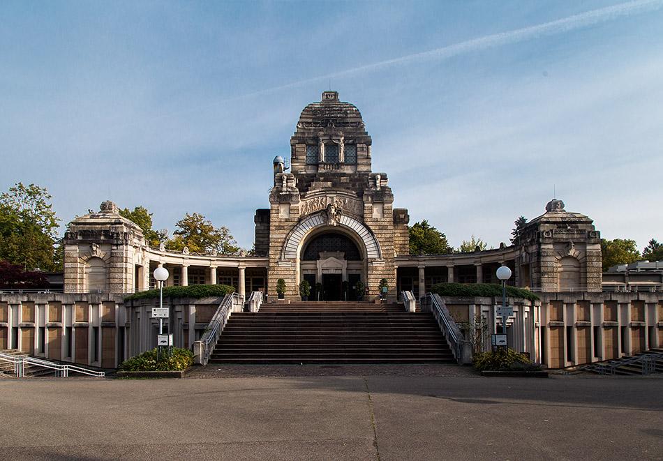 Fabian Fröhlich, Stuttgart, Pragfriedhof, Krematorium