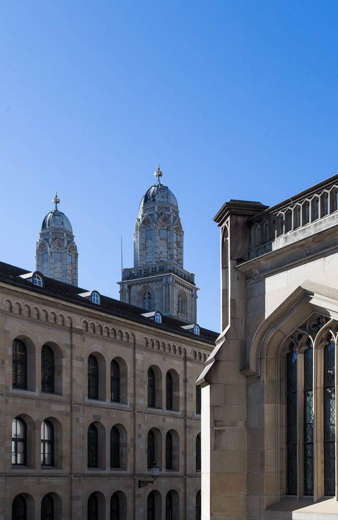 Fabian Fröhlich, Zürich, Grossmünster and Grossmünsterkapelle