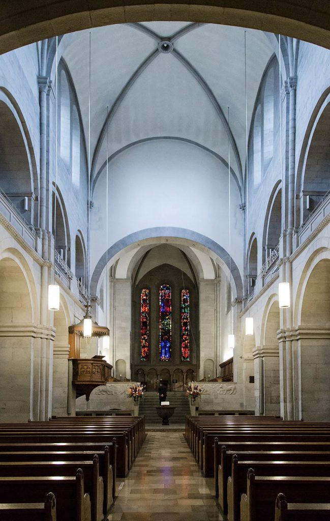 Fabian Fröhlich, Zürich, Grossmünster, Giacometti