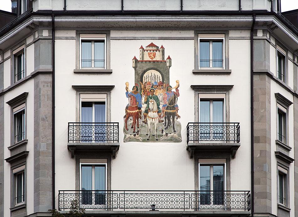 Fabian Fröhlich, Zürich, Hotel Scheuble
