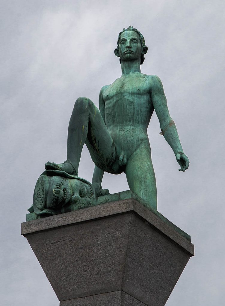 Fabian Fröhlich, Zürich, Ivar Johnssohn, David and Goliath