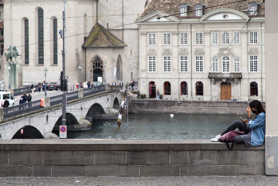 Fabian Fröhlich, Zürich, Münsterbrücke