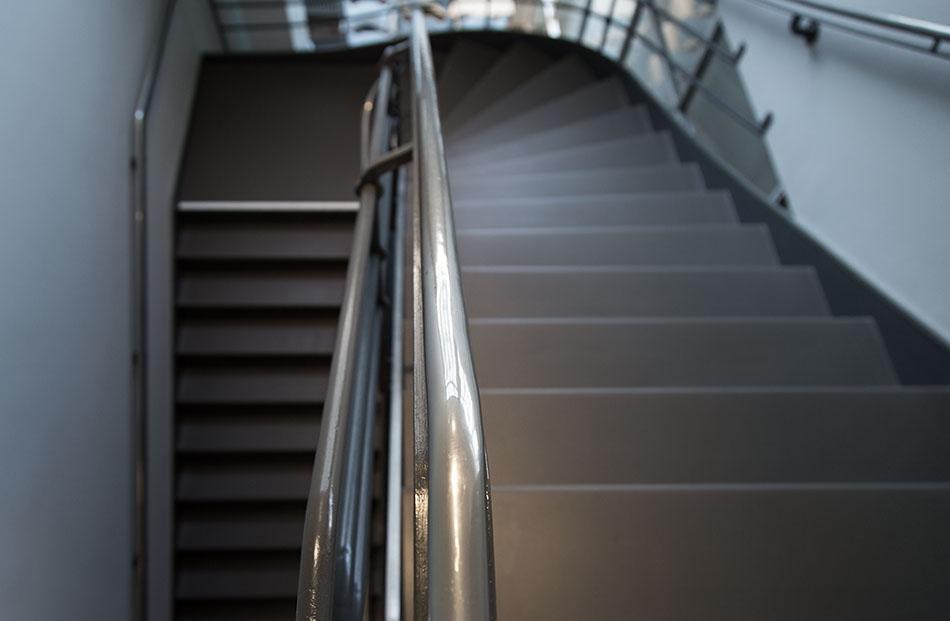 Fabian Fröhlich, Zürich, Museum für Gestaltung von   Adolf Steger und Karl Egender, Treppenhaus