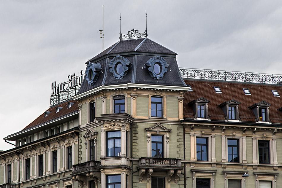 Fabian Fröhlich, Zürich, NZZ-Gebäude