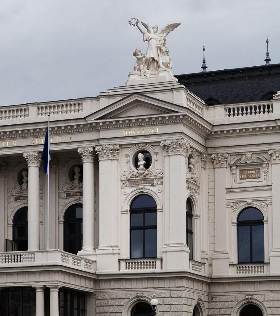 Fabian Fröhlich, Zürich, Opernhaus