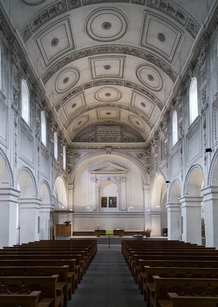 Fabian Fröhlich, Zürich, Predigerkirche