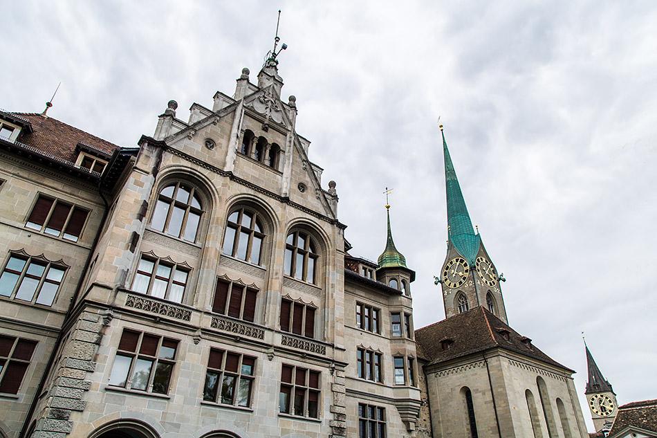 Fabian Fröhlich, Zürich, Stadthaus