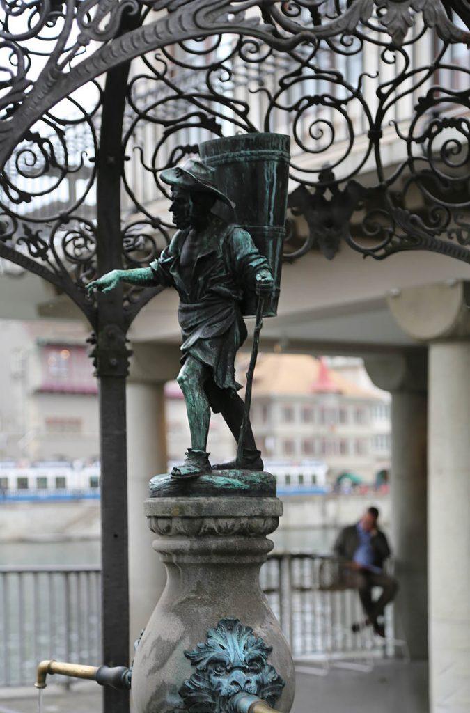 Fabian Fröhlich, Zürich, Winterbrunnen