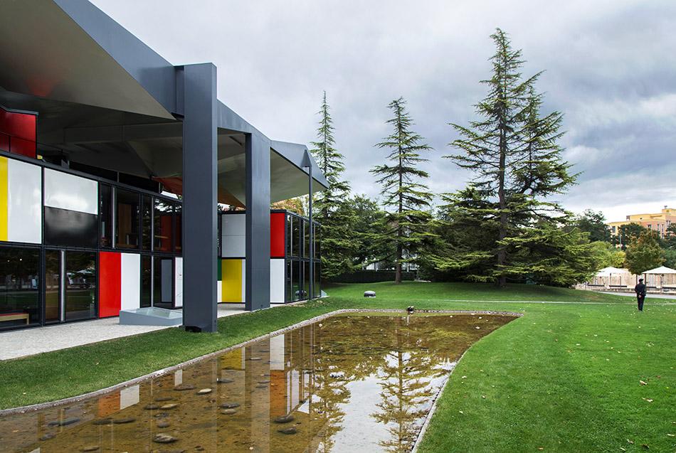 Fabian Fröhlich, Zürich, Pavillon Le Corbusier