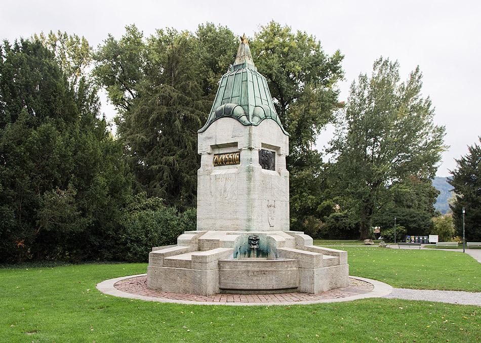 Fabian Fröhlich, Zürich, Widmer-Zwyssig-Denkmal