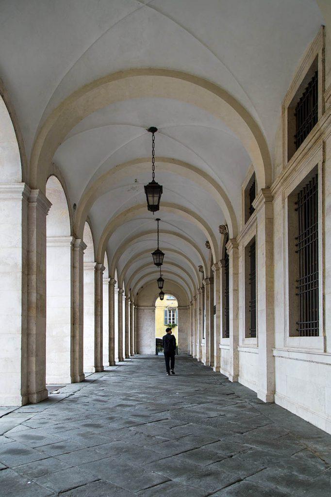 Fabian Fröhlich, Bergamo, Città Alta, Palazzo Nuovo