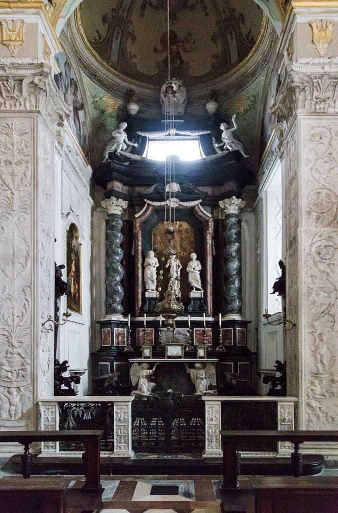 Fabian Fröhlich, Bergamo, Città Alta, Cappella Colleoni, Choir