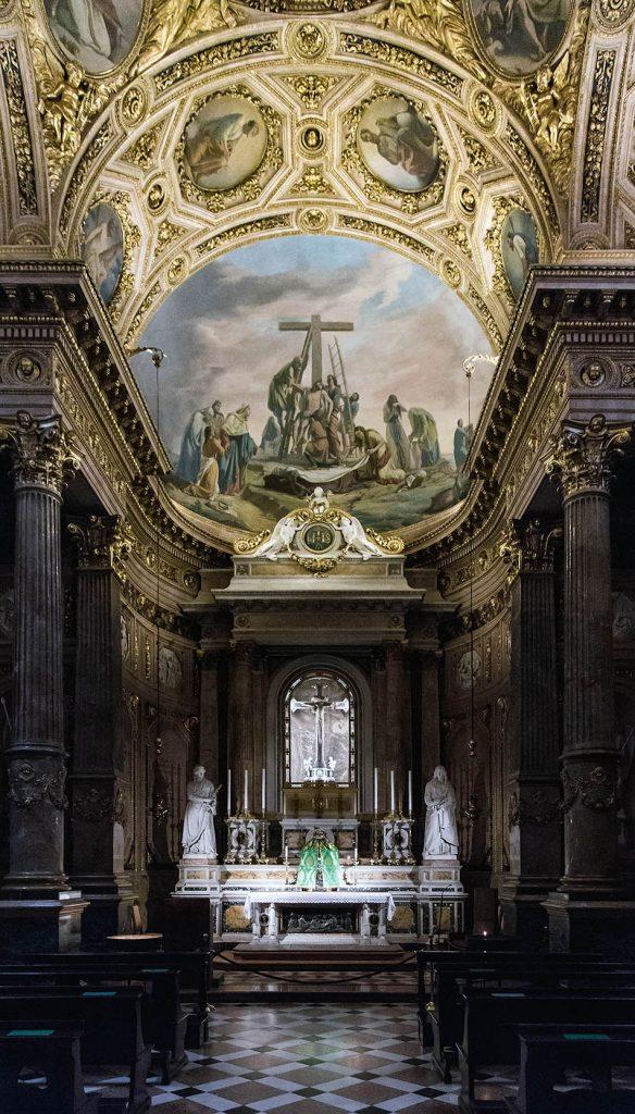 Fabian Fröhlich, Bergamo, Città Alta, La cappella del Crocifisso, Duomo