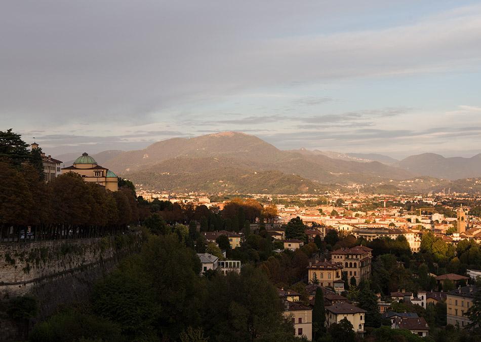 Fabian Fröhlich, Bergamo, Città Alta, View from Piattaforma di Sant'Andrea
