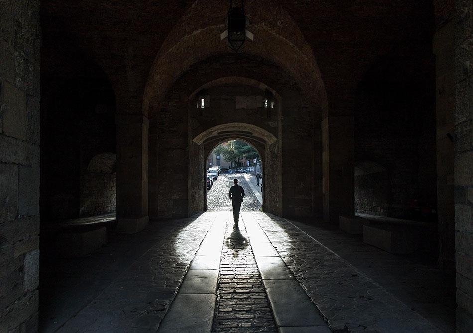 Fabian Fröhlich, Bergamo, Città Alta, Porta Sant'Alessandro