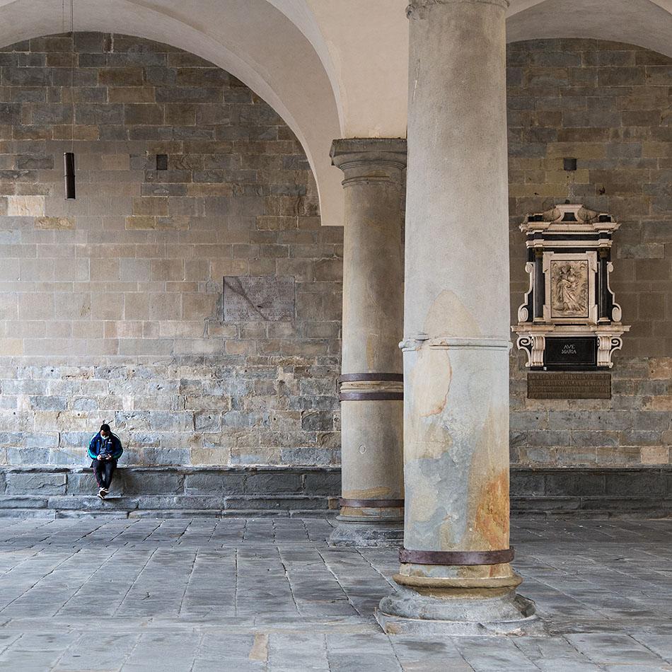 Fabian Fröhlich, Bergamo, Città Alta, Loggia Palazzo Ragione