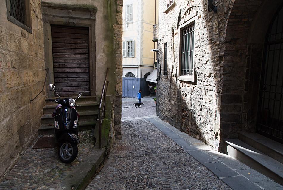 Fabian Fröhlich, Bergamo, Città Alta, Via Solata