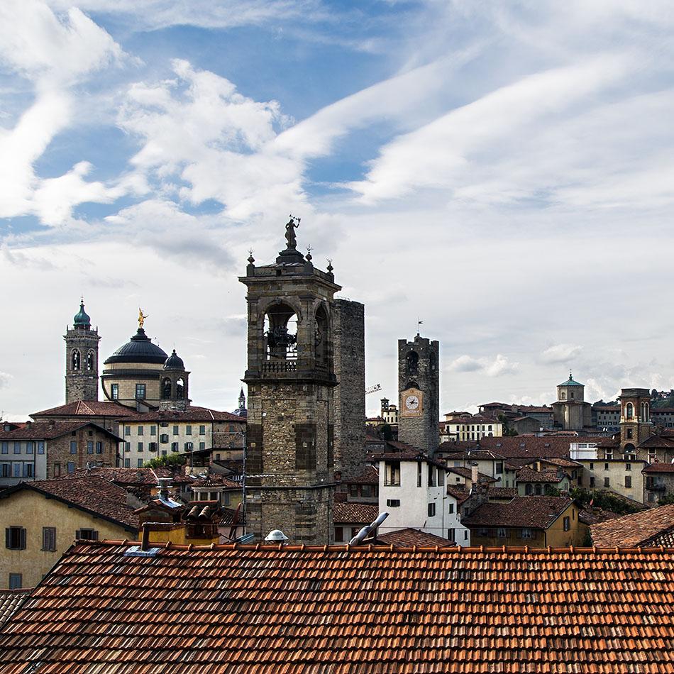 Fabian Fröhlich, Bergamo, Città Alta,