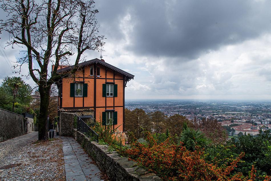 Fabian Fröhlich, Bergamo, Città Alta, Via S. Vigilio