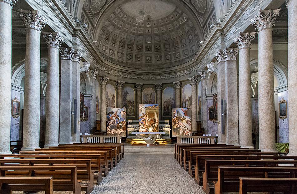 Fabian Fröhlich, Bergamo, Città Alta, Chiesa di Sant'Andrea apostoloChiesa di Sant'Andrea apostolo (exhibition Grandi Restauri - Bagliori Veneziani)