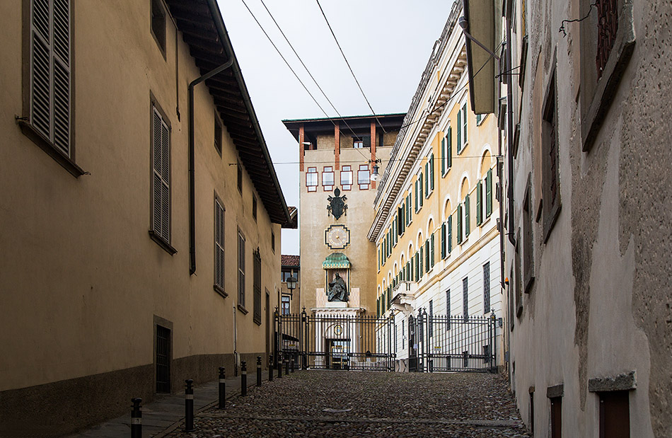 Fabian Fröhlich, Bergamo, Città Alta, Seminario Vescovile Giovanni XXIII