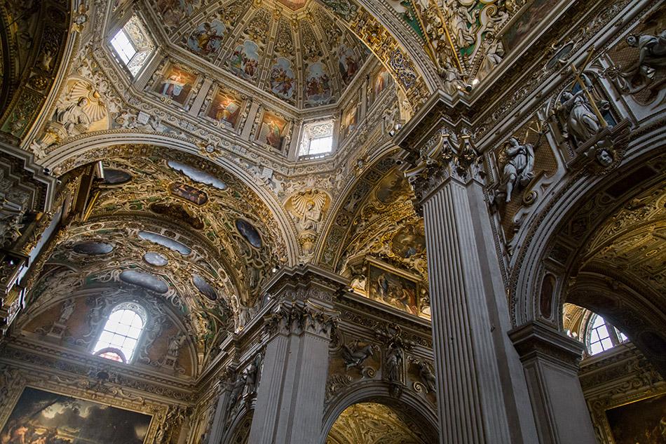 Fabian Fröhlich, Bergamo, Città Alta, Basilica di Santa Maria Maggiore