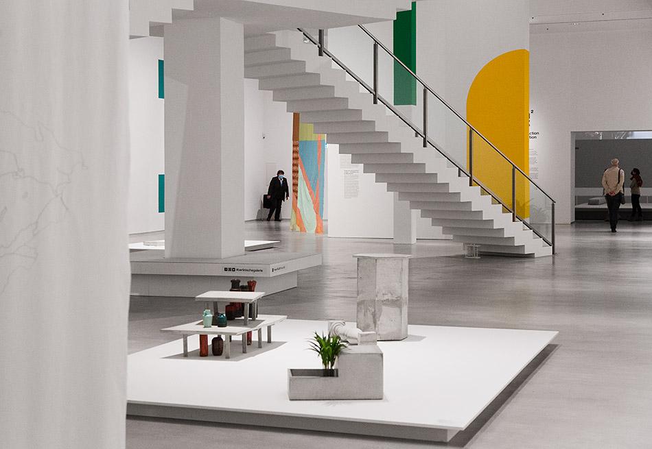 Fabian Fröhlich, Berlinische Galerie, Isa Melsheimer, Installation view