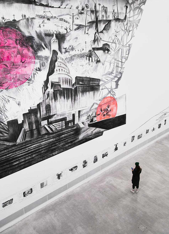 "Fabian Fröhlich, Berlinische Galerie, Exhibition ""Marc Bauer. The Blow-Up Regime"", Fallout 3, The Triumph"