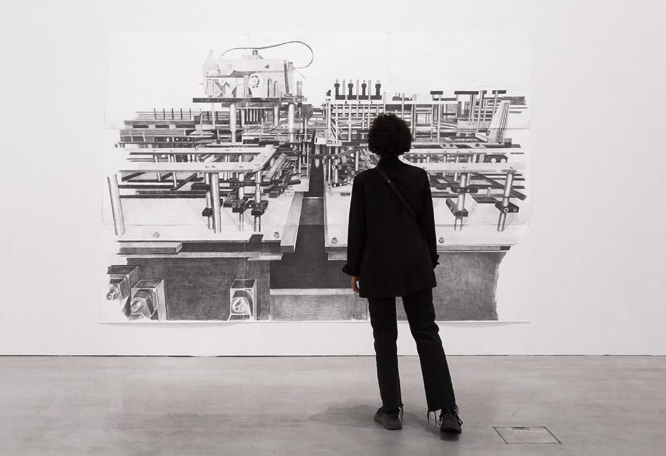 """Fabian Fröhlich, Berlinische Galerie, Exhibition """"Marc Bauer. The Blow-Up Regime"""", K1"""