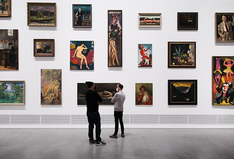 Fabian Fröhlich, Berlinische Galerie, Ausstellung Provenienzen