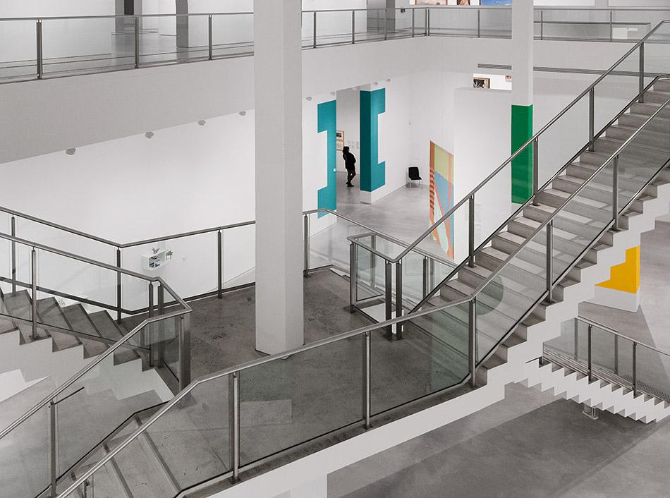 Fabian Fröhlich, Berlinische Galerie, Treppenhaus