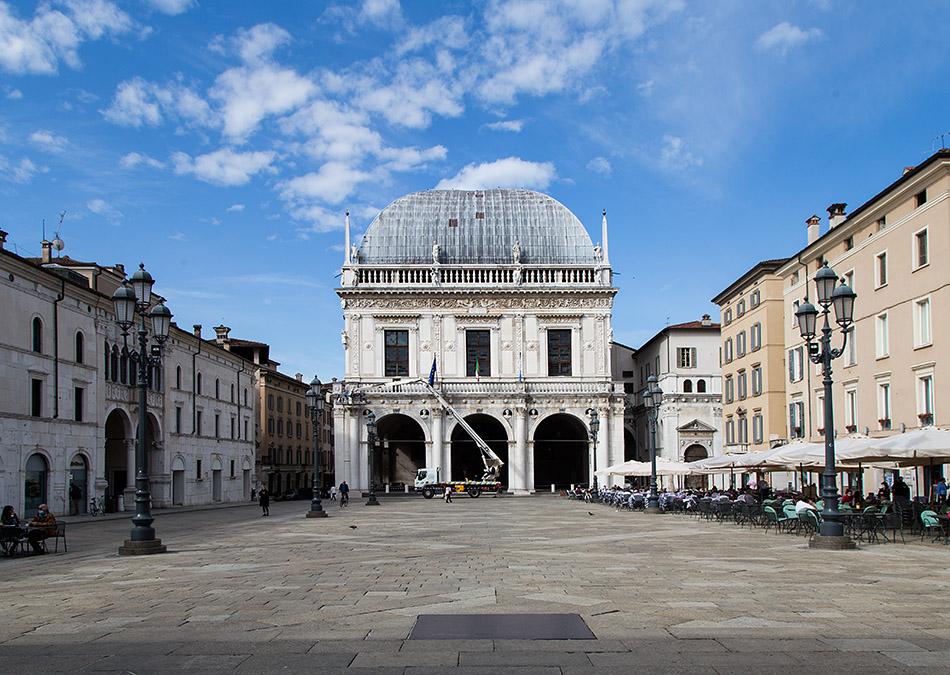 Fabian Fröhlich, Brescia, Palazzo della Loggia