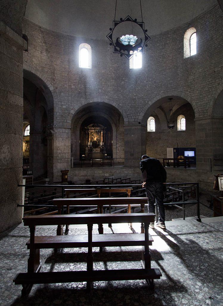 Fabian Fröhlich, Brescia, Duomo vecchio, Platea di Santa Maria