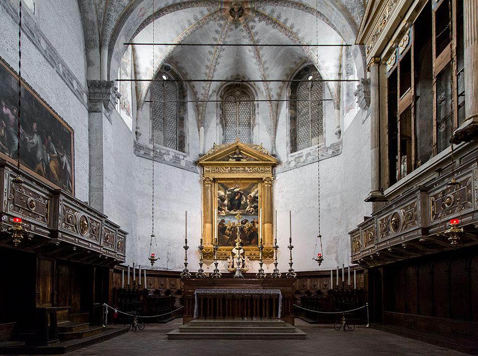 Fabian Fröhlich, Brescia, Duomo vecchio, Moretto, Pala dell'Assunta