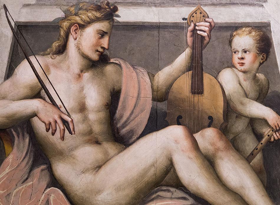 Fabian Fröhlich, Brescia, Pinacoteca Tosio Martinengo, Lattanza Gambara, Apollo