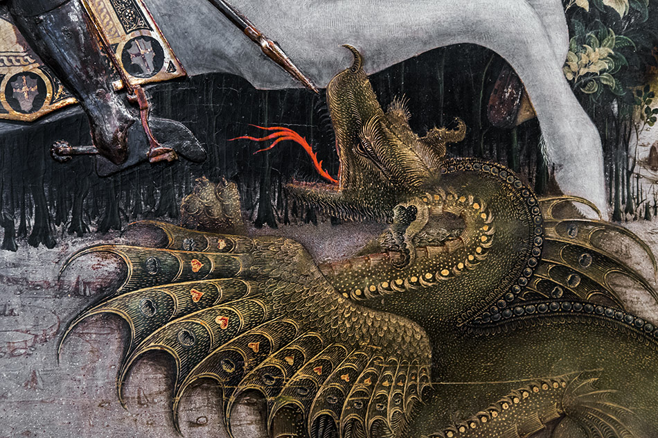 Fabian Fröhlich, Brescia, Pinacoteca Tosio Martinengo, Antonio Cicognara, Saint George and the Princess