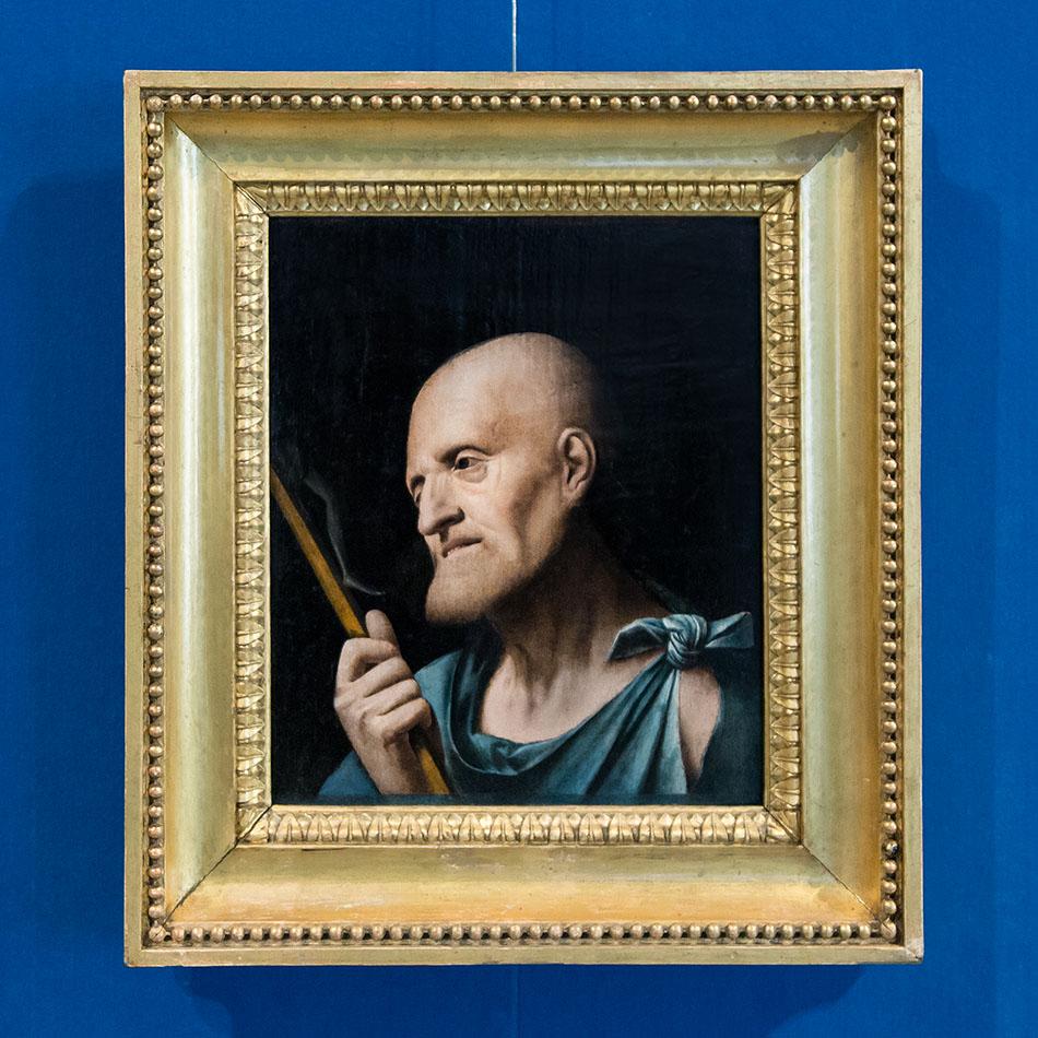 Fabian Fröhlich, Brescia, Pinacoteca Tosio Martinengo, Unknown painter from Lombardy, Saint Jerome