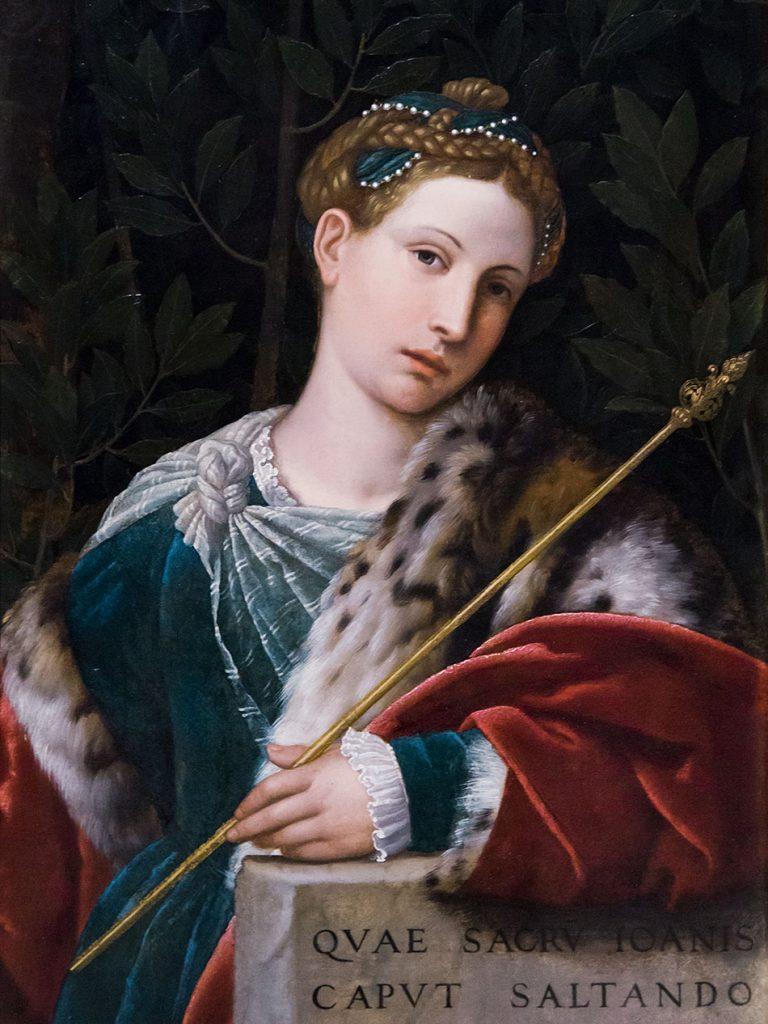Fabian Fröhlich, Brescia, Pinacoteca Tosio Martinengo, Alessandro Moretto, Portraot of a Lady as Salome