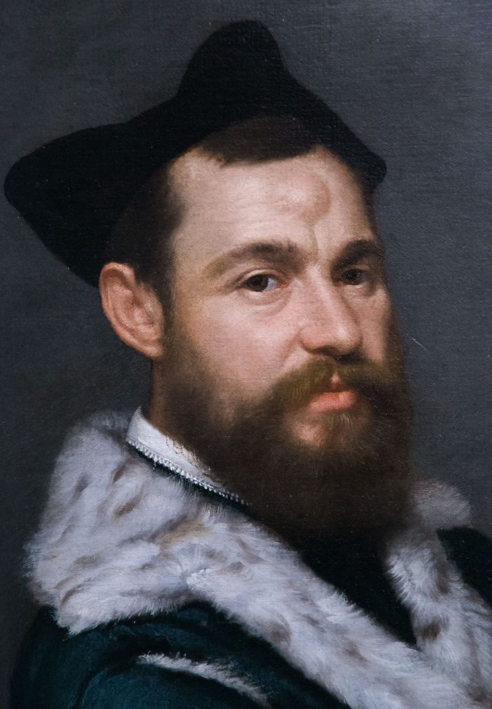 Fabian Fröhlich, Brescia, Pinacoteca Tosio Martinengo, Giovanni Battista Moroni , il Magistrate
