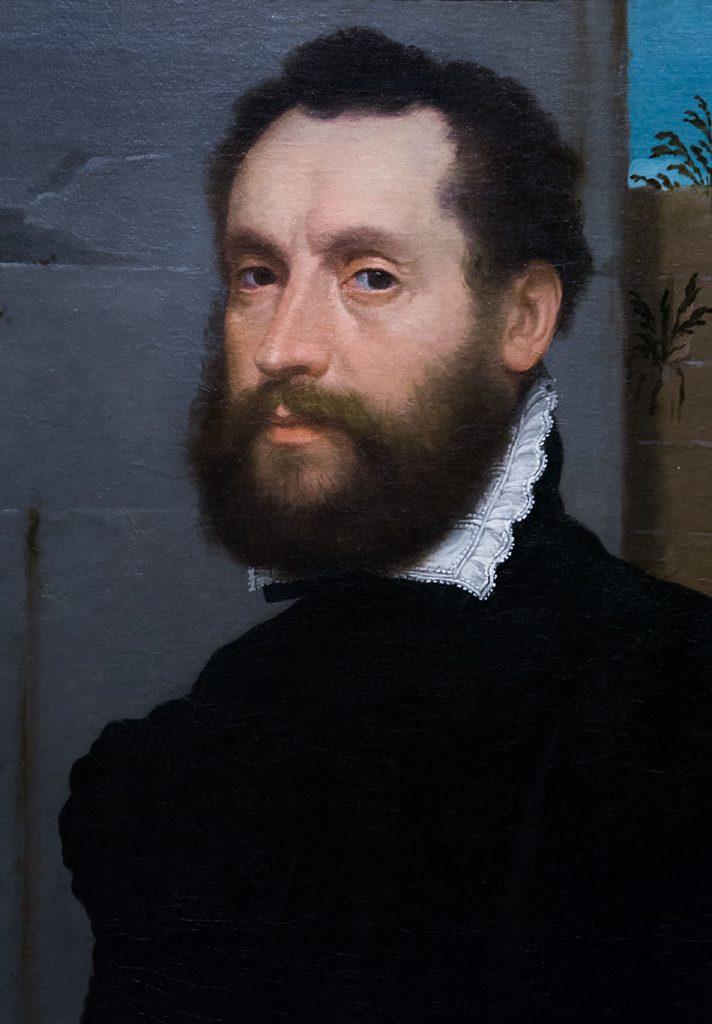 Fabian Fröhlich, Brescia, Pinacoteca Tosio Martinengo, Giovanni Battista Moroni , Portrait if a Gentleman