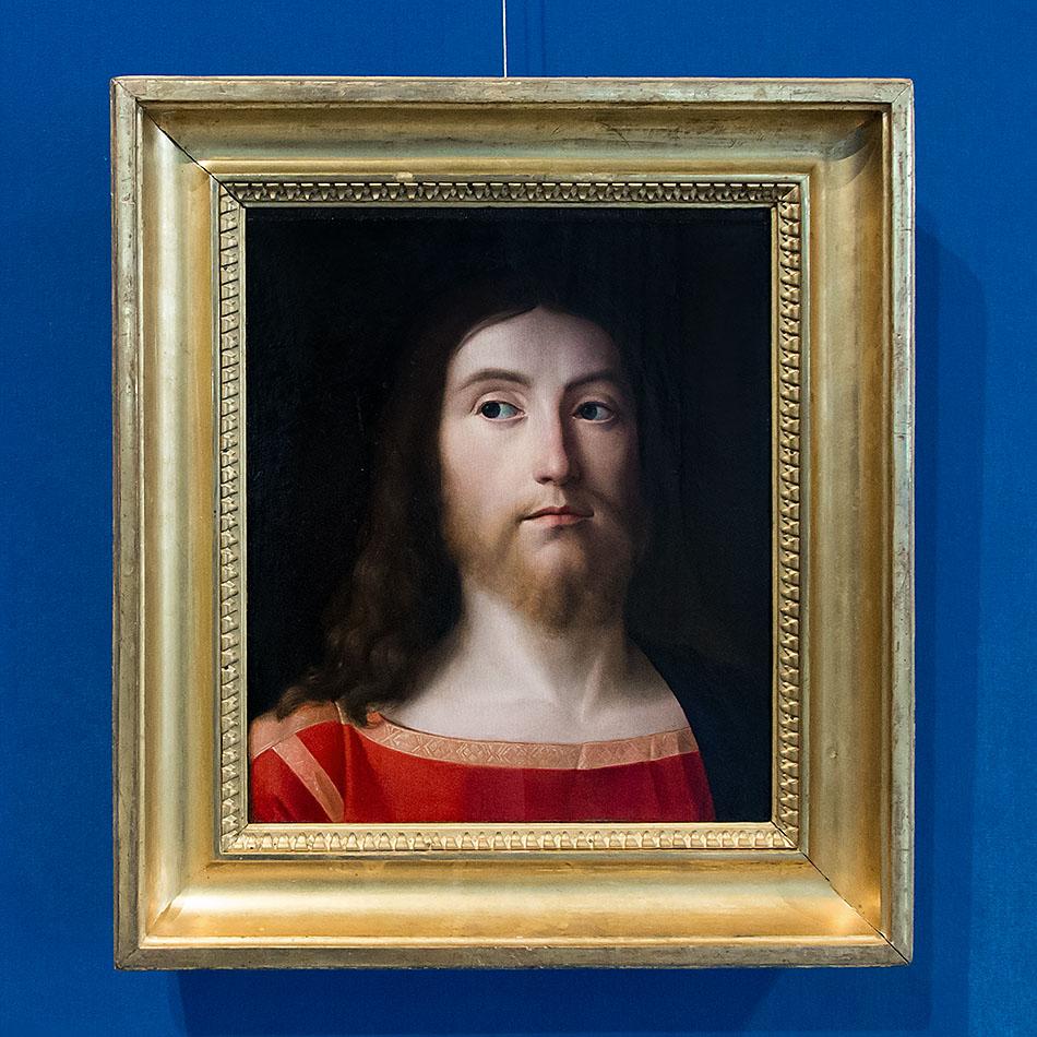 Fabian Fröhlich, Brescia, Pinacoteca Tosio Martinengo, Andrea Prevatili, Christ