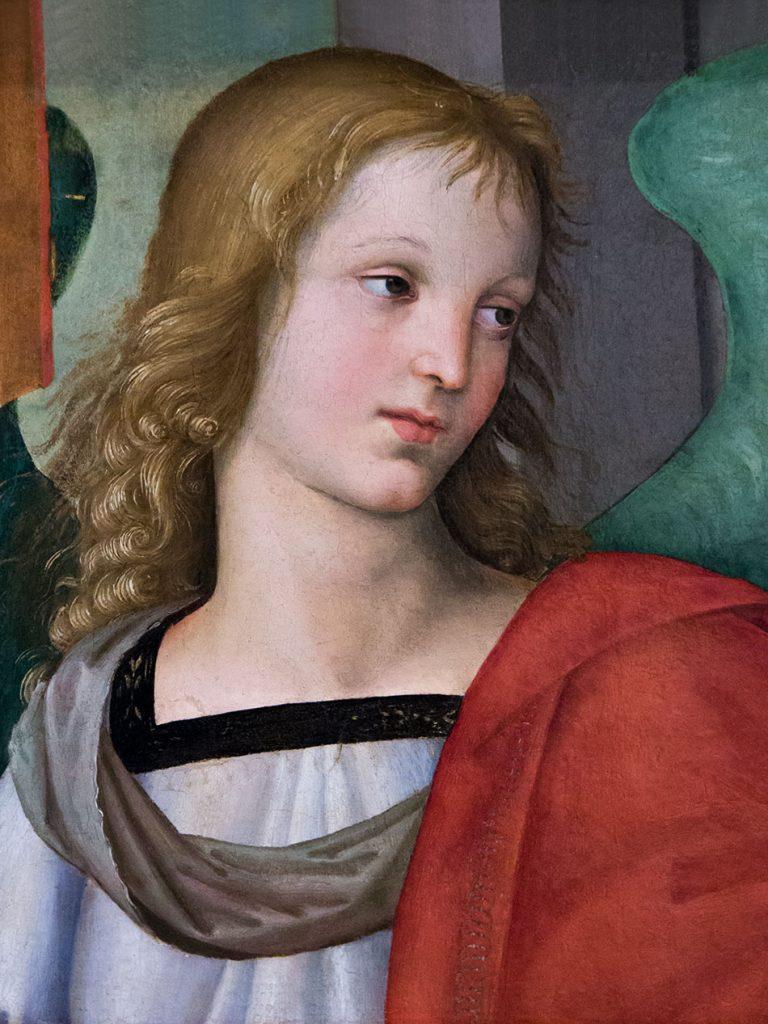 Fabian Fröhlich, Brescia, Pinacoteca Tosio Martinengo, Raffaelo, Angelo