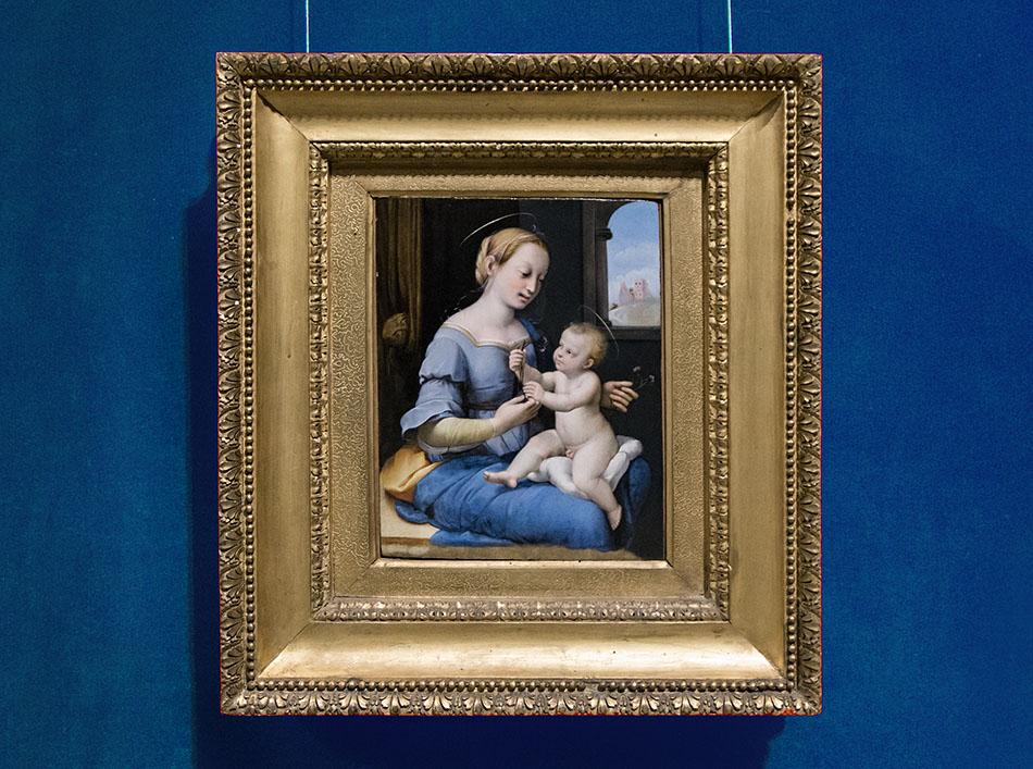 Fabian Fröhlich, Brescia, Pinacoteca Tosio Martinengo, Raffael, Madonna dei Garofani
