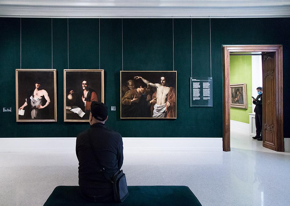 Fabian Fröhlich, Brescia, Pinacoteca Tosio Martinengo, Luca Giordano and Matthias Stom