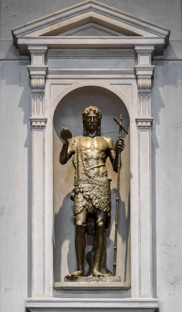 Fabian Fröhlich, Brescia, Cattedrale di Santa Maria Assunta, Statue of St. John the Baptist