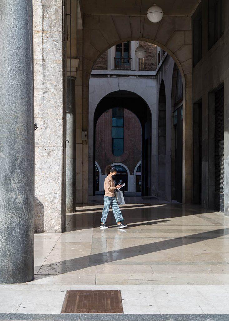 Fabian Fröhlich, Brescia, Passage at Piazza della Vittoria