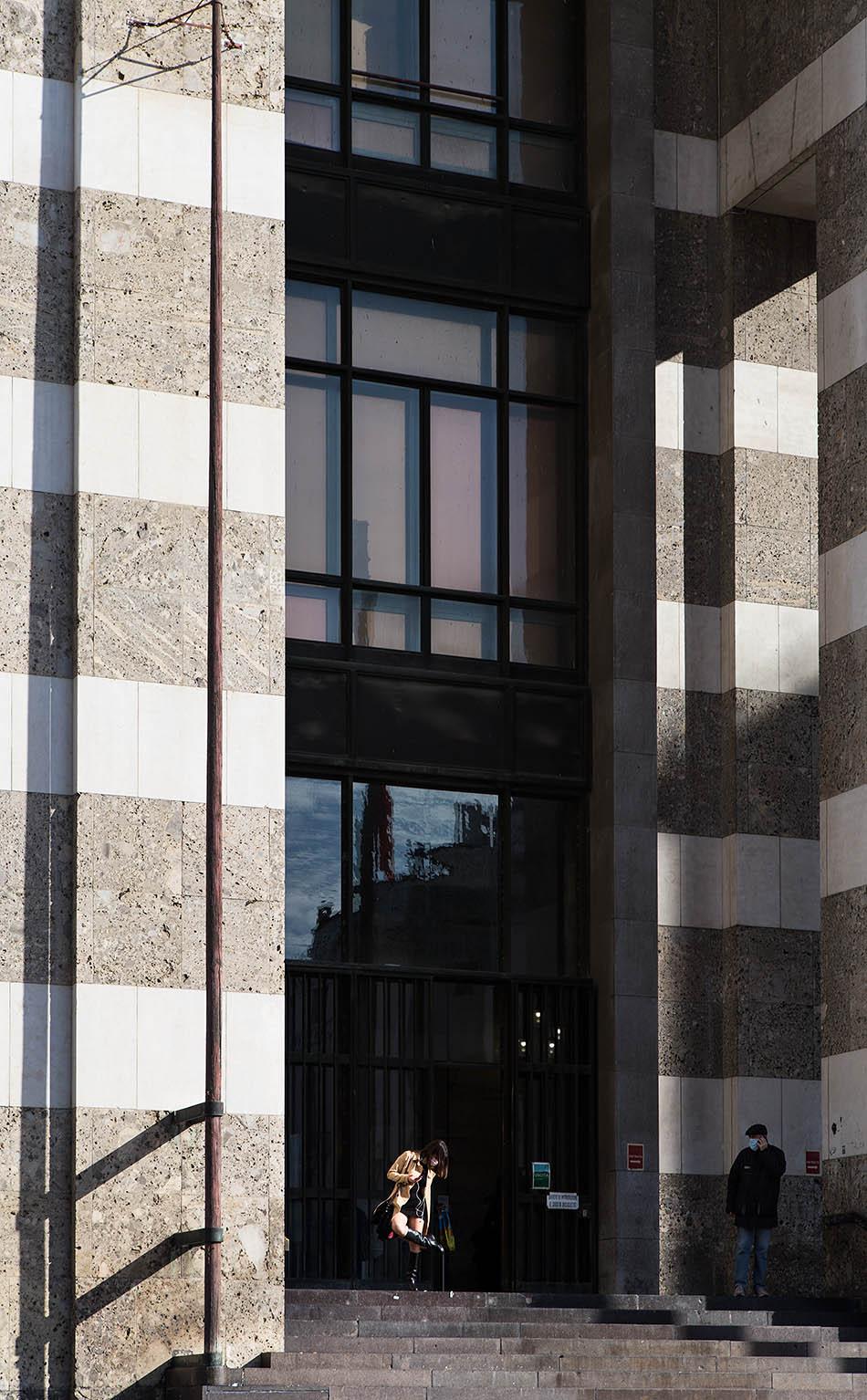 Fabian Fröhlich, Brescia, Palazzo delle Poste
